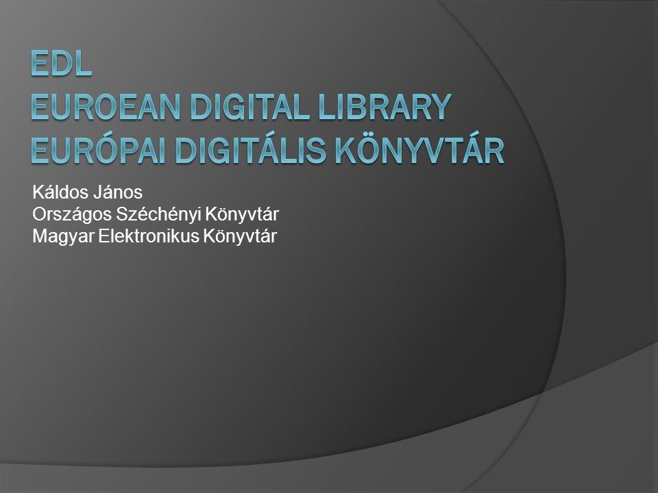 Káldos János Országos Széchényi Könyvtár Magyar Elektronikus Könyvtár