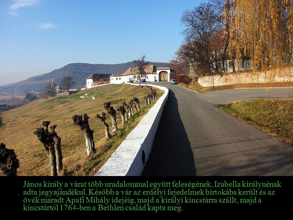 1241 tavaszán a tatárok Küküllővárat is elpusztították.