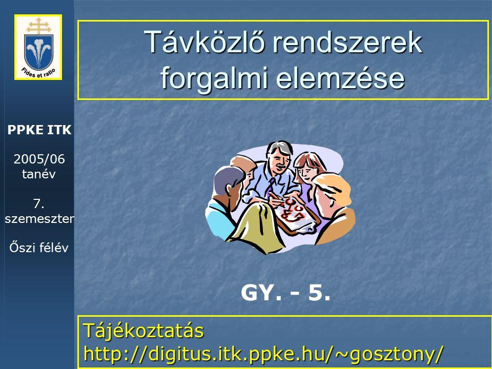 PPKE ITK 2005/06 tanév 7.