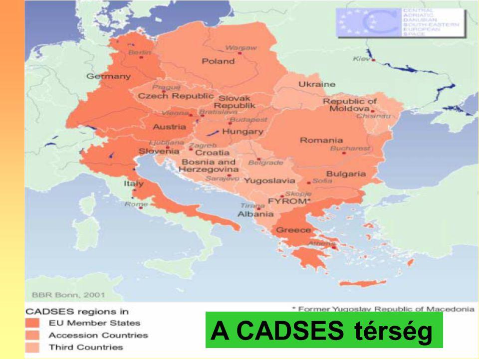 9 A CADSES térség