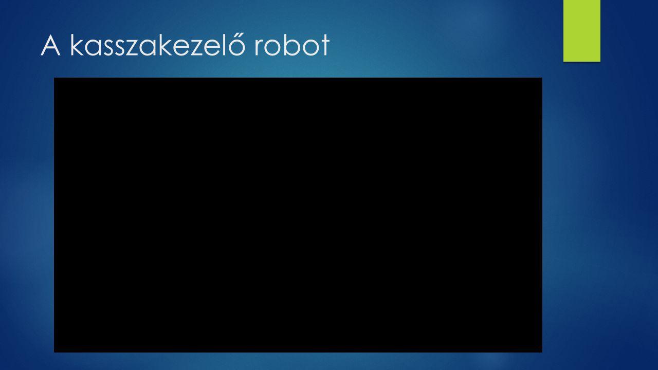 A kasszakezelő robot