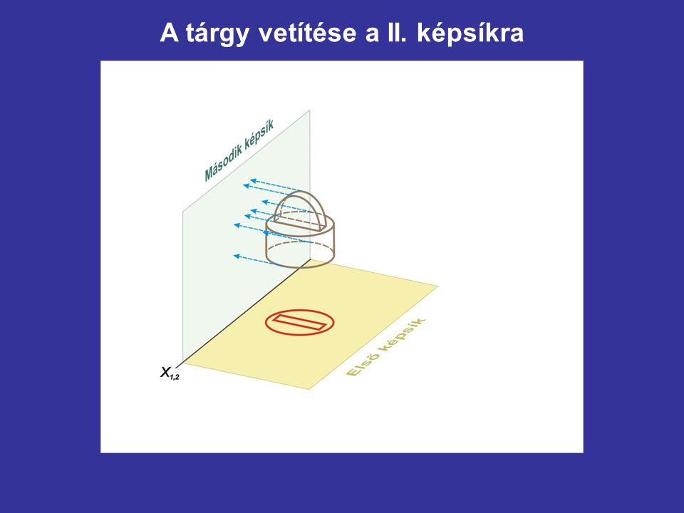 A háromszög negyedik képének szerkesztése