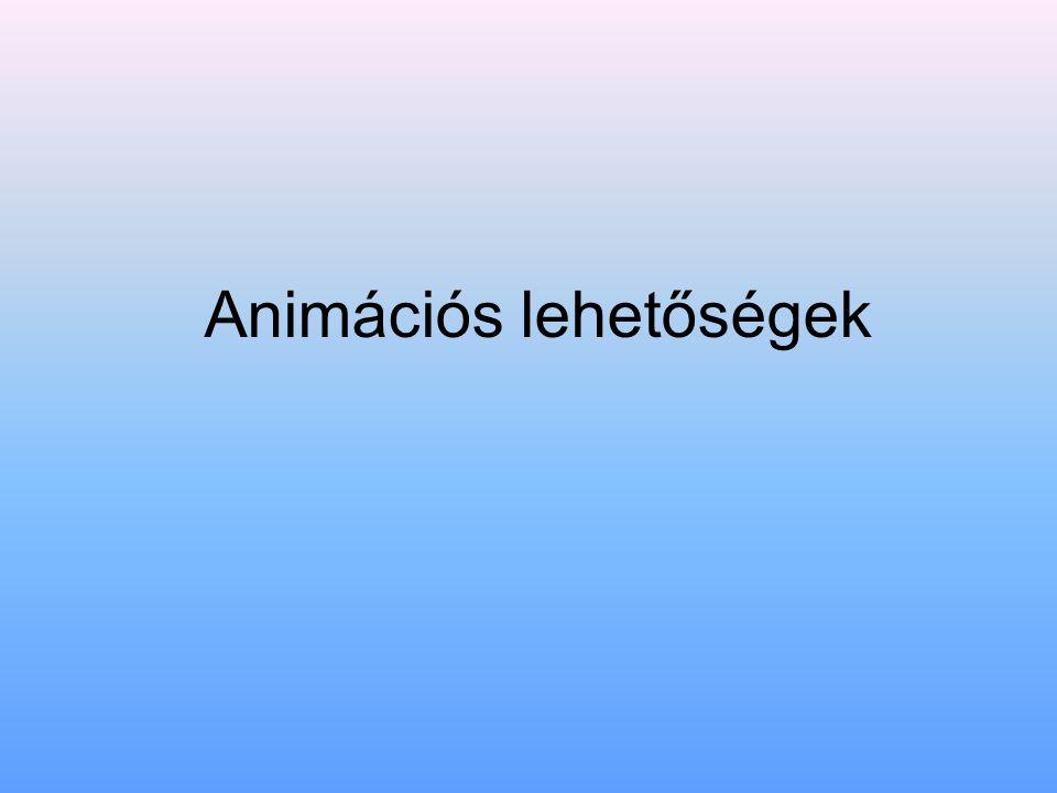 Animációs lehetőségek