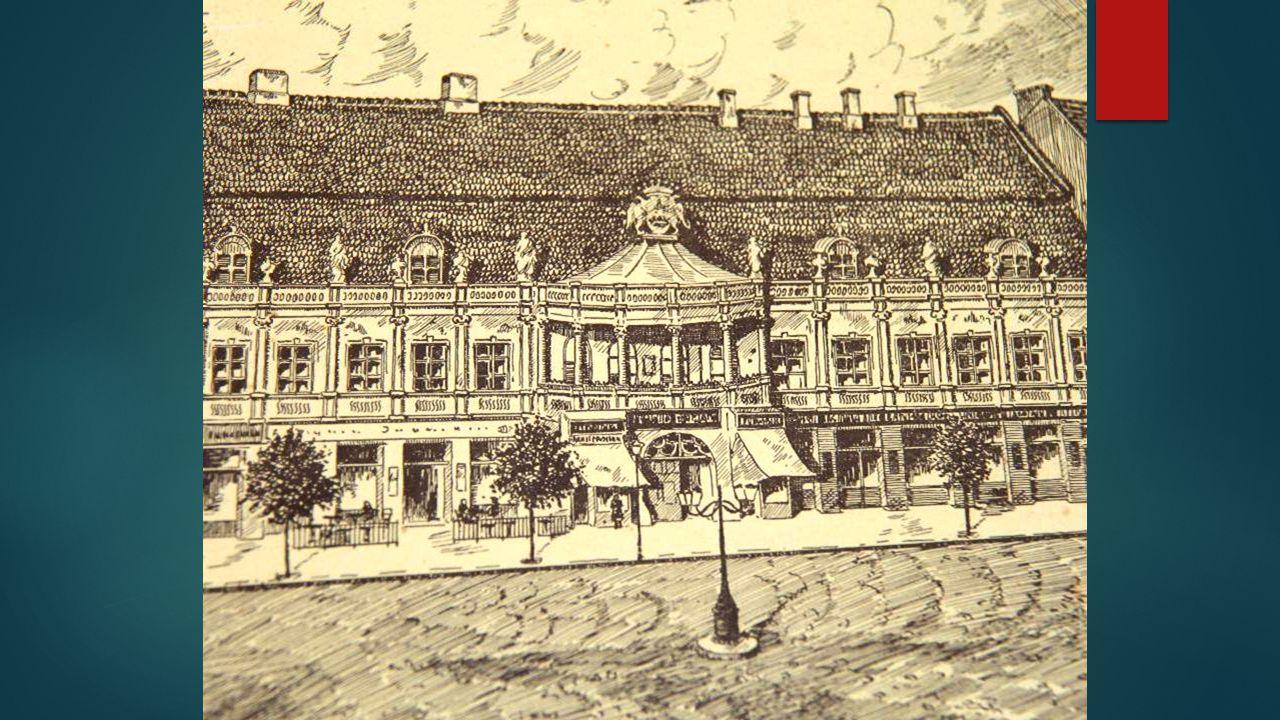 A Bánffy-palota. Kripta vagy múzeum. Szegény Kisbán Miklós, aki kor-kínpadon, pusztult el egyedül.