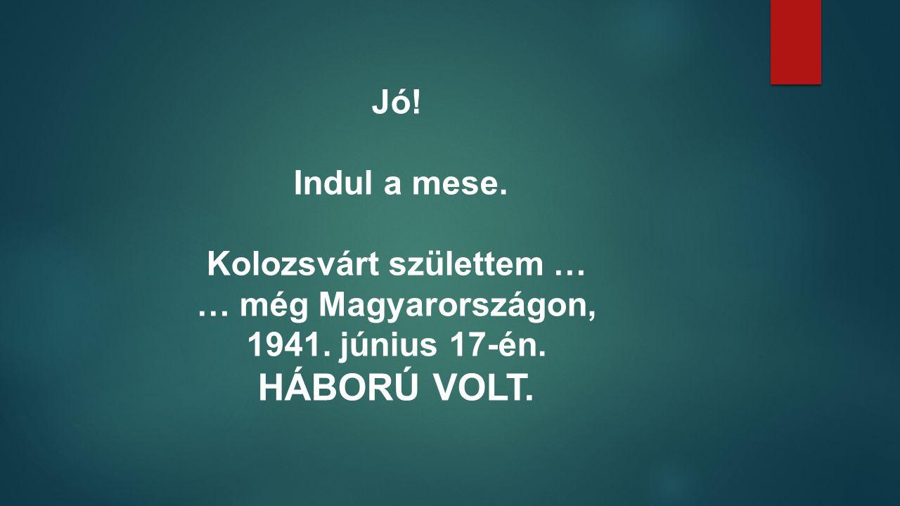 Ebben konfirmáltam. Itt eskettek össze. Innen kísérte a magyar Kolozsvár utolsó útjára Édesapám.