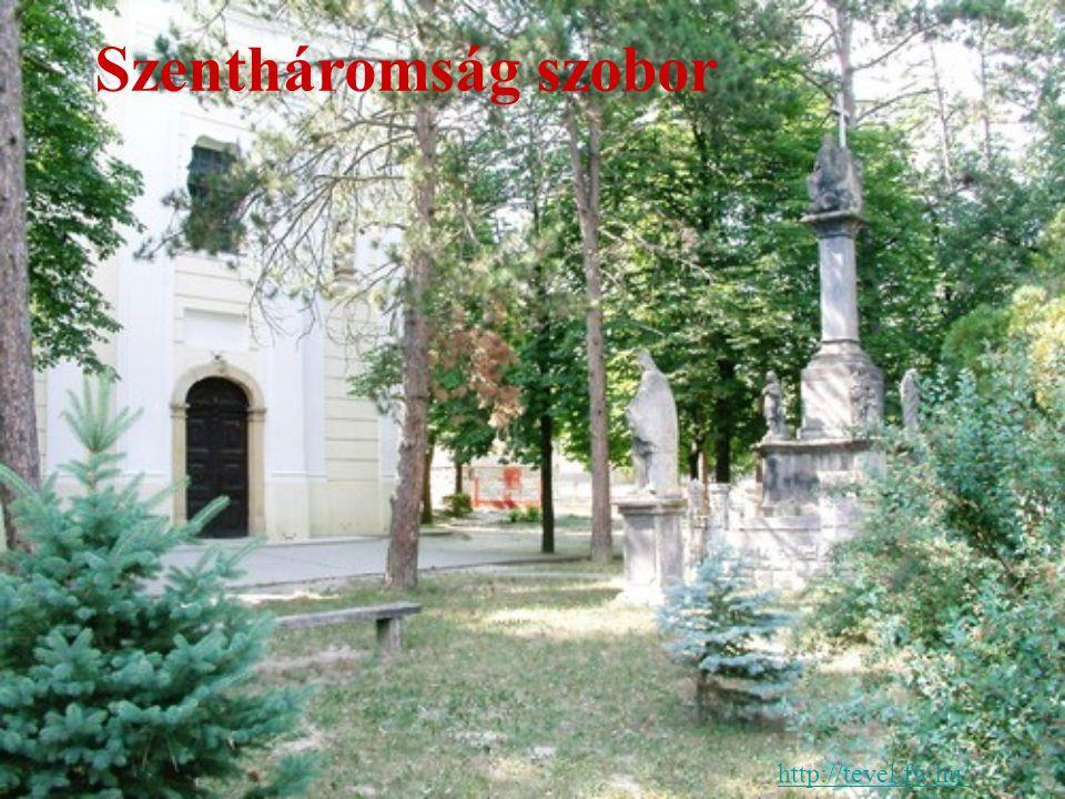 http://tevel.fw.hu/ Szentháromság szobor