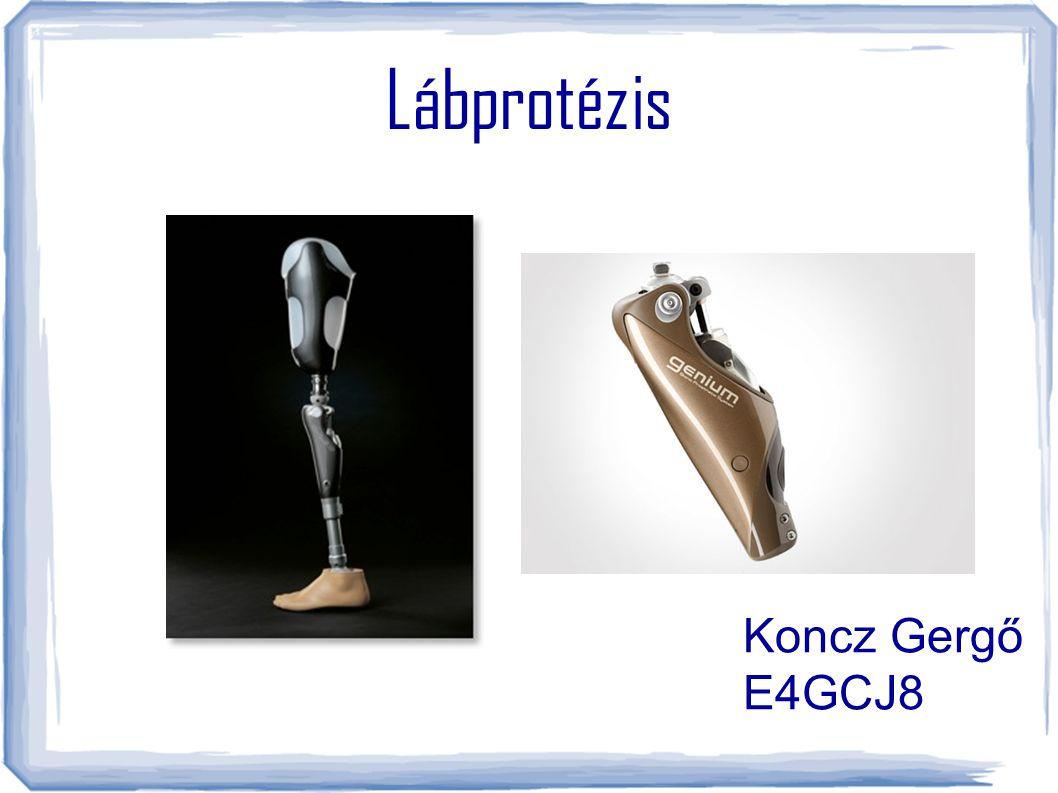 Lábprotézis Koncz Gergő E4GCJ8