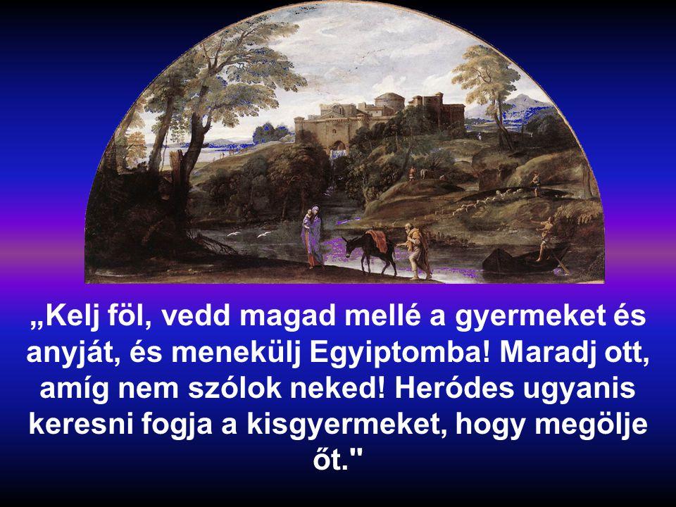 S ZENT CSALÁD A ÉV Máté Máté 2,13-15.19-23
