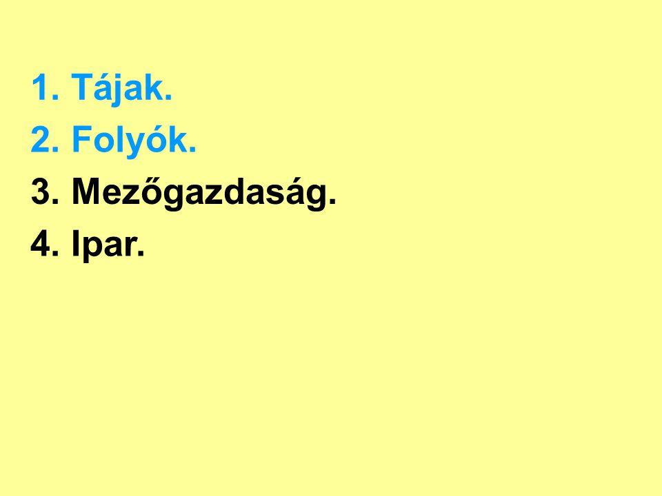 2. Folyók. Öreg-Duna Mosoni-Duna Rába Marcal