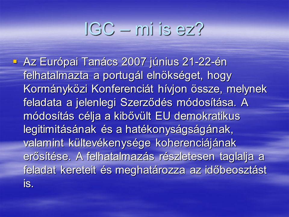 IGC – mi is ez.