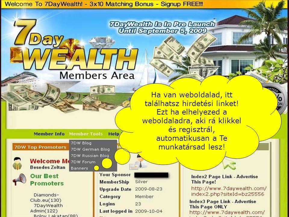 Ha van weboldalad, itt találhatsz hirdetési linket.