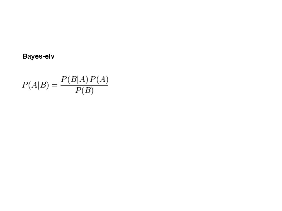 Bayes-elv