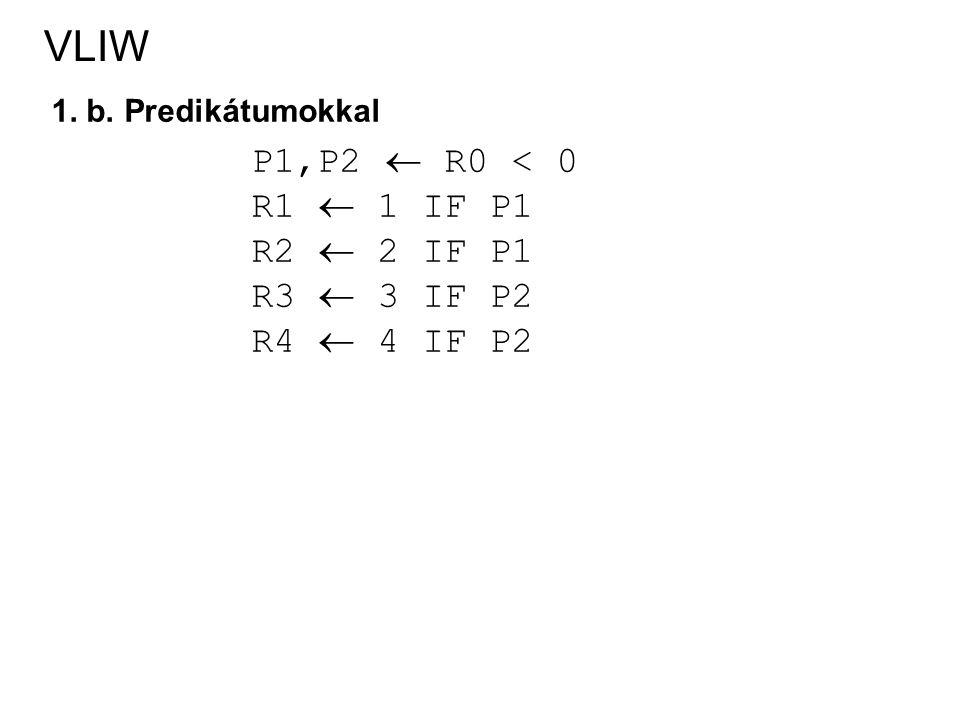 VLIW 1.c.