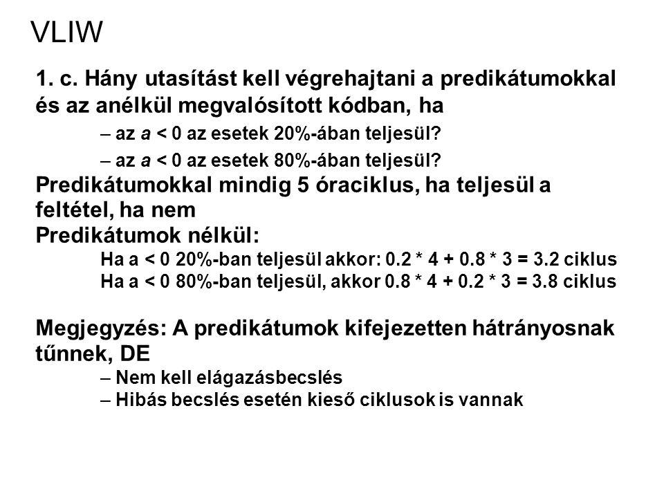 VLIW 1. c.