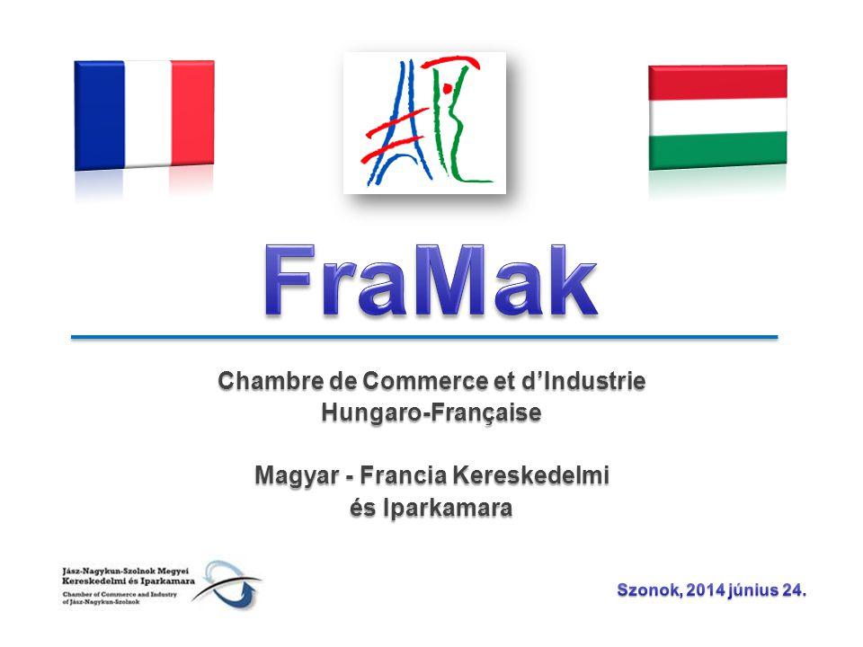 Chambre de Commerce et d'Industrie Hungaro-Française Magyar - Francia Kereskedelmi és Iparkamara