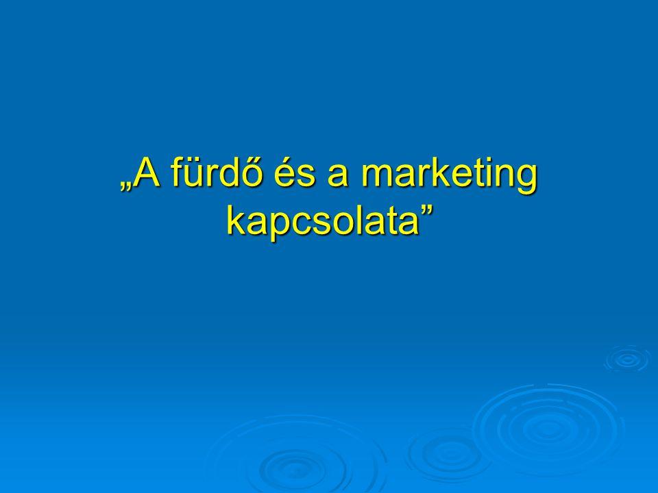 """""""A fürdő és a marketing kapcsolata"""""""