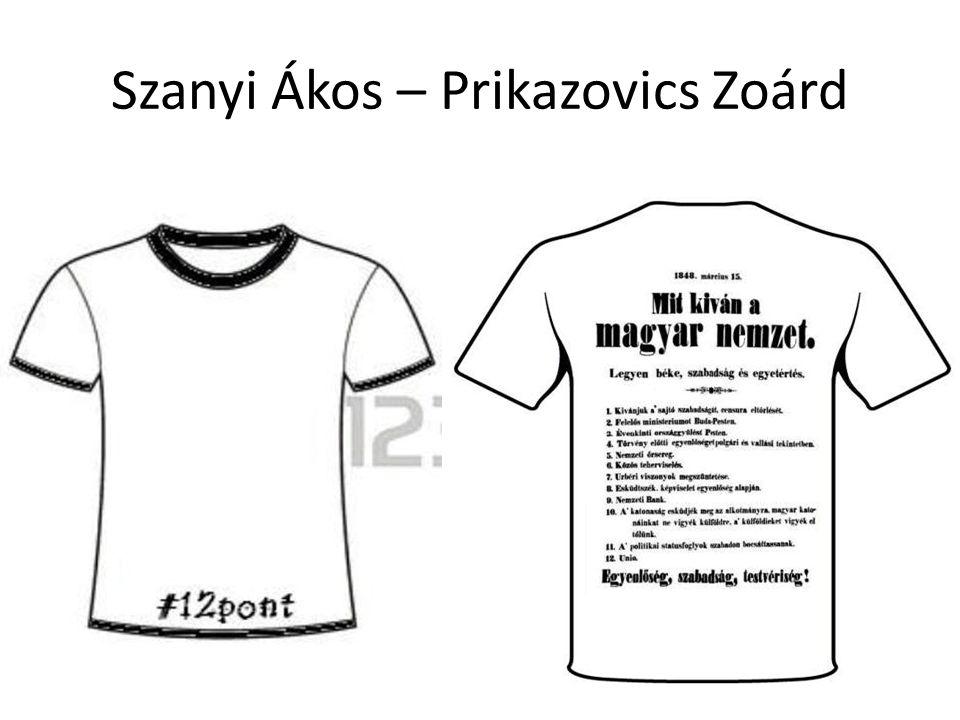 Szanyi Ákos – Prikazovics Zoárd