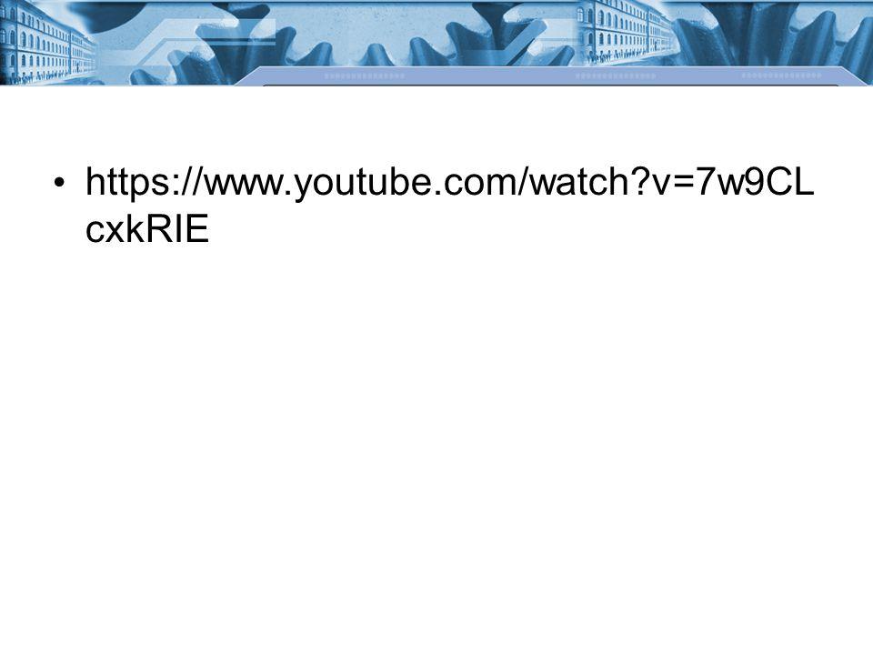 https://www.youtube.com/watch?v=7w9CL cxkRIE