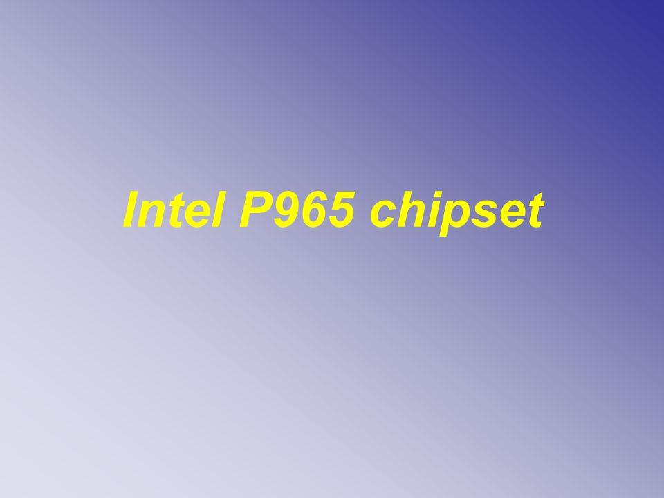 Intel P965 chipset