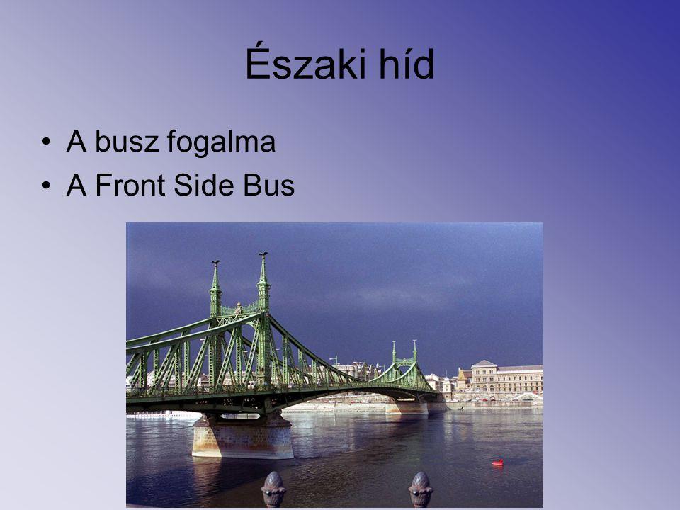 Északi híd A busz fogalma A Front Side Bus