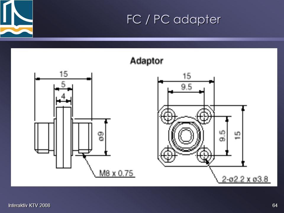 64Interaktív KTV 2008 FC / PC adapter