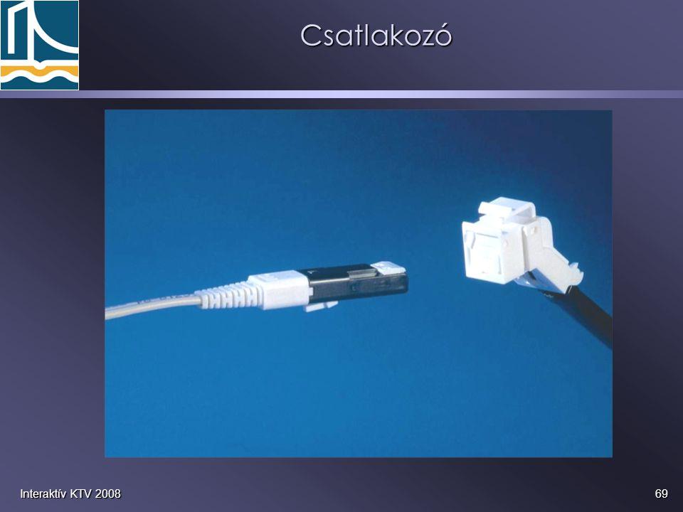 69Interaktív KTV 2008Csatlakozó