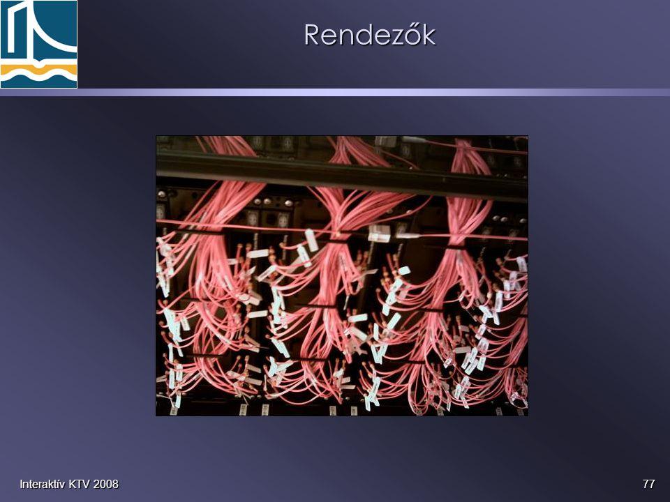 77Interaktív KTV 2008Rendezők