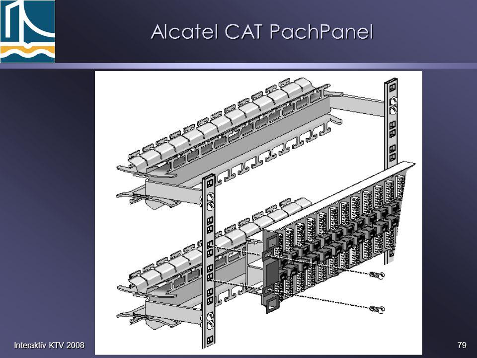 79Interaktív KTV 2008 Alcatel CAT PachPanel