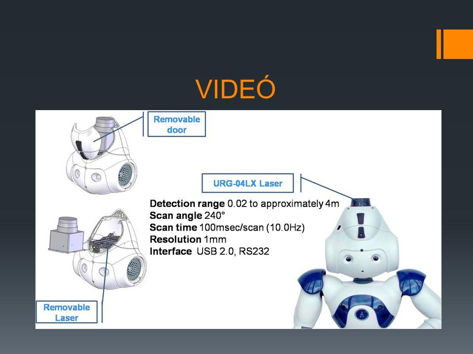 """Hardver / aktuátorok  Elektromotorok  """"ízületeknél  2 db hangszóró  Színváltó ledek  Hangszórók körül  Szemnél  Wi-Fi  IR adó-vevő  Távirányítás (a robottal egy eszközt pl."""