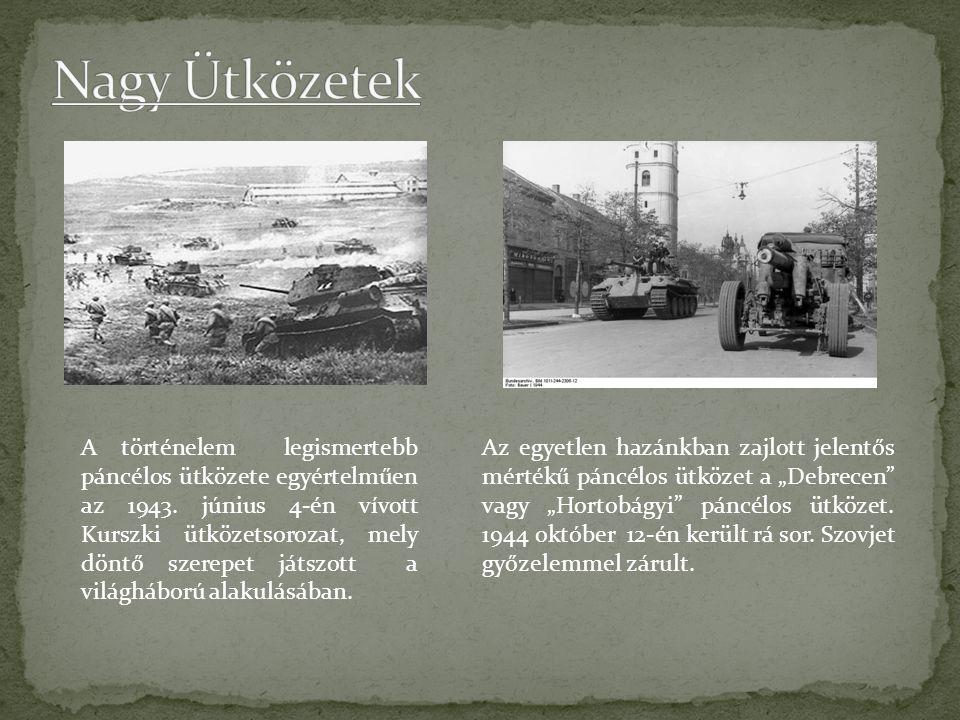 A történelem legismertebb páncélos ütközete egyértelműen az 1943.