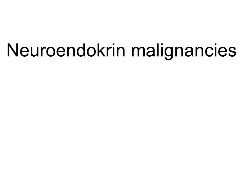 Well differentiated neuroendokrin tumor (Ki-67<2%) Well differentiated neuroendokrin carcinoma (Ki-67 3-20%) poorly differentiated neuroendokrin carcinoma (Ki-67 >20%) Surgery, intervention radiology Somatostatin-analóg interferon sunitinib everolimus + combination doxorubicin + streptozotocin temozolamid + capecitabin bevacizumab tünetekre Somatostatin –analóg cisplatin + etopozid temozolamid + capecitabin bevacizumab tünetekre somatostatinanalóg Endoradiotherapy: szomatosztatin peptid radionuklid kezelés ( 90 Y- DOTATOC, 177 Lu-DOTATATE); 131 I-MIBG Summary of treatment options for localised and metastatic NET Role os SSA in treatment Kjell Öberg, 2011