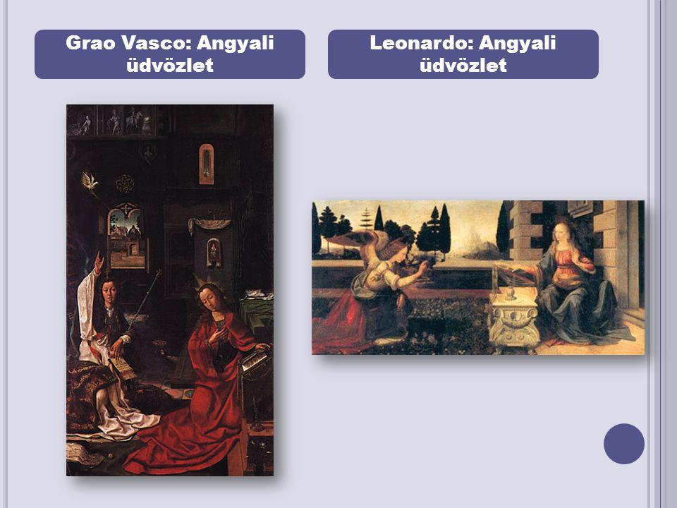 Grao Vasco: Angyali üdvözlet Leonardo: Angyali üdvözlet