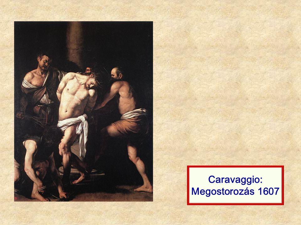 Caravaggio: Tövissel való koronázás 1602-03
