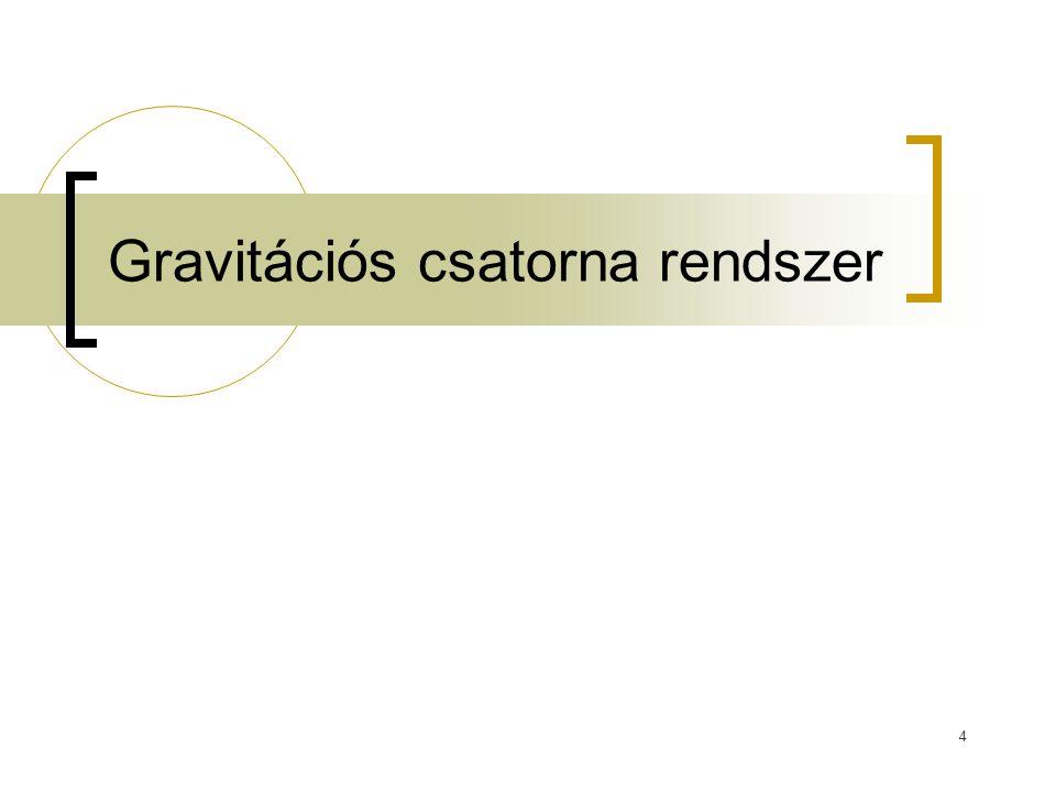 Gravitációs csatorna rendszer 4