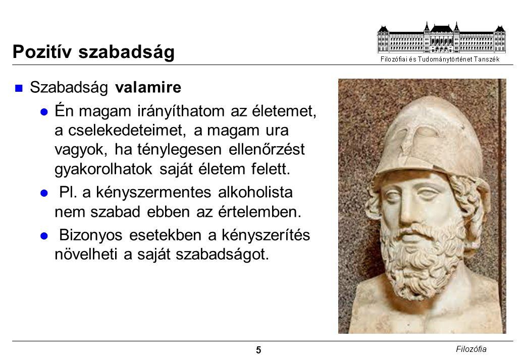 6 Filozófia A görögök szabadságfogalma I.