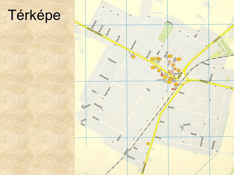 Térképe