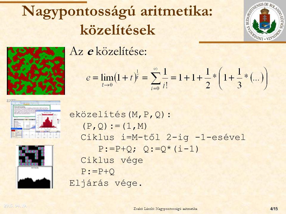 Zsakó László: Programozási alapismeretek M Vége