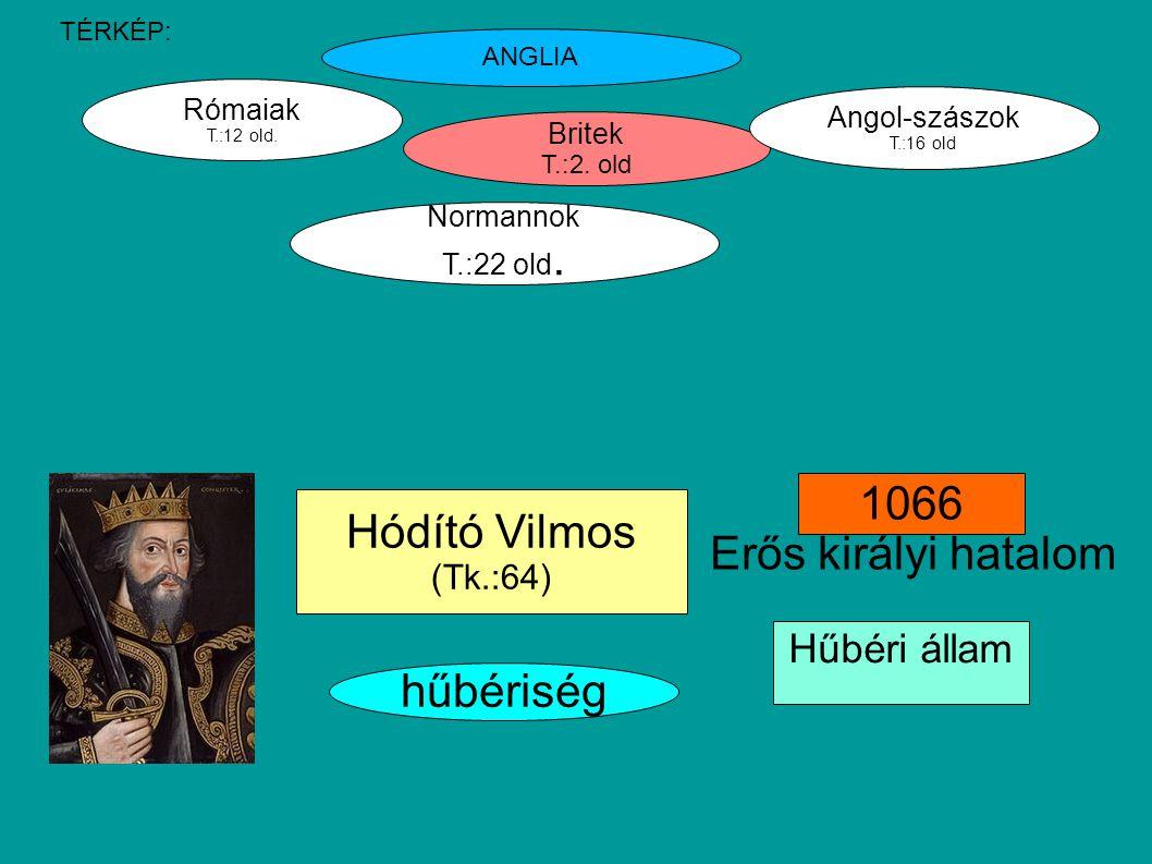 Britek T.:2.old Rómaiak T.:12 old. Angol-szászok T.:16 old Normannok T.:22 old.