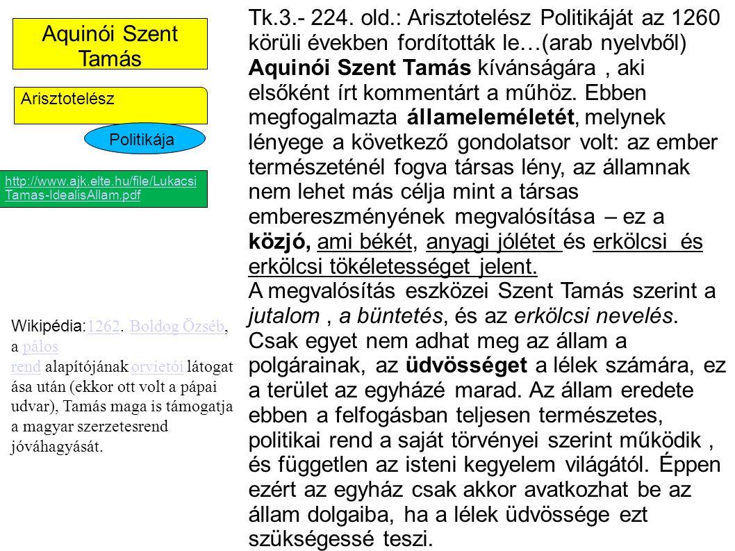 Aquinói Szent Tamás Tk.3.- 224.
