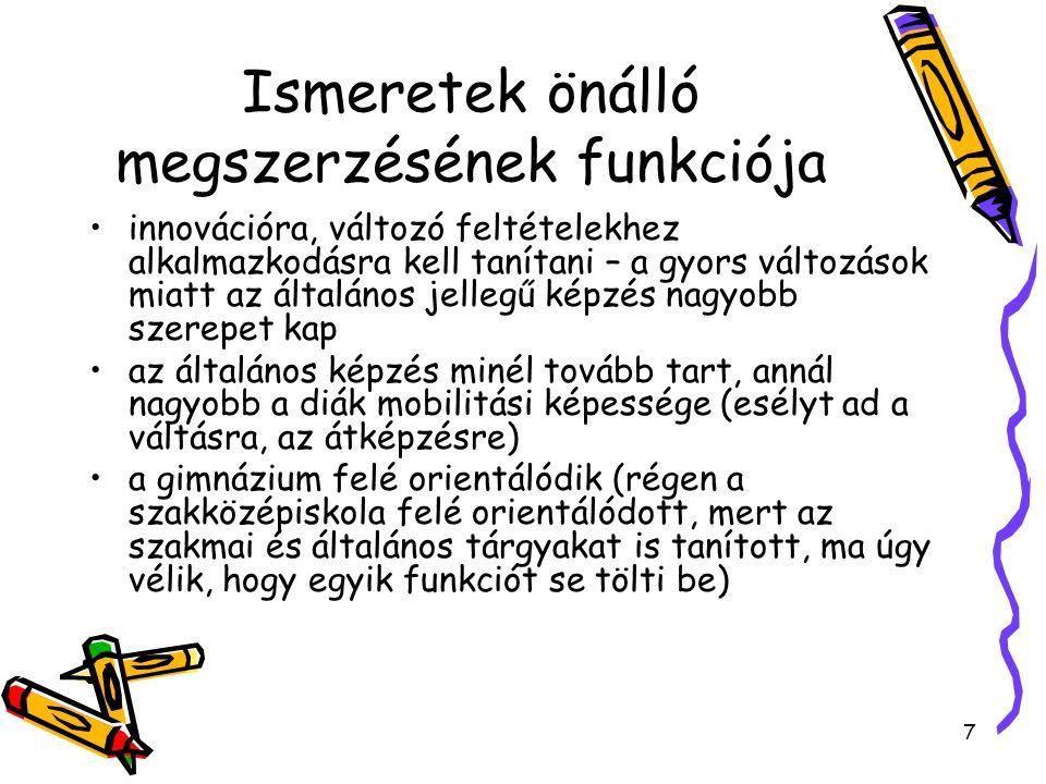 18 Magyarországi helyzet I.