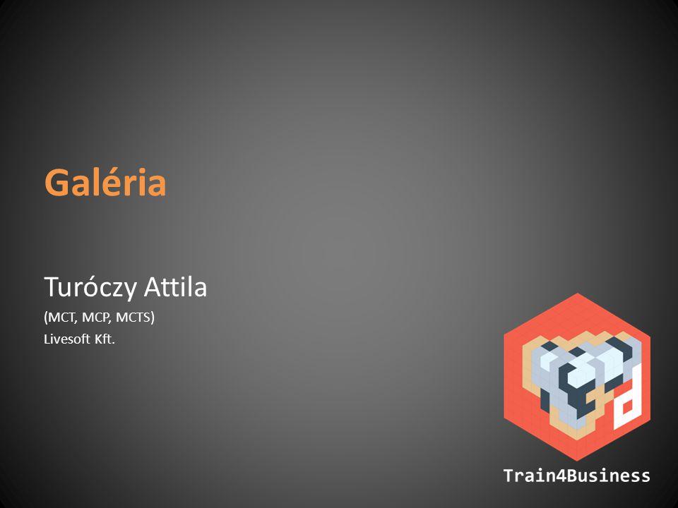 Galéria Turóczy Attila (MCT, MCP, MCTS) Livesoft Kft.
