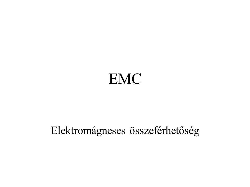 EMC Elektromágneses összeférhetőség