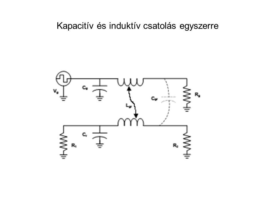 Kapacitív és induktív csatolás egyszerre