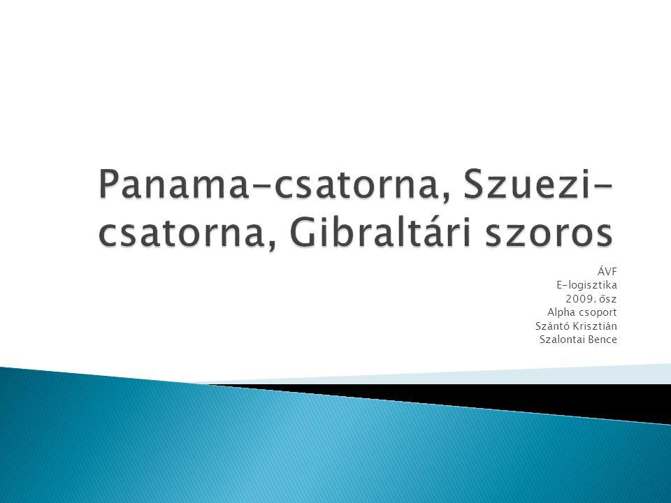 ÁVF E-logisztika 2009. ősz Alpha csoport Szántó Krisztián Szalontai Bence