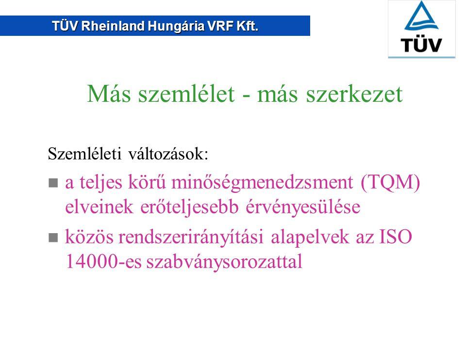 TÜV Rheinland Hungária VRF Kft. Lehet, hogy többre is szükség lesz...