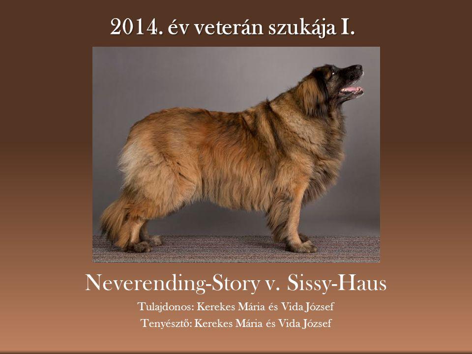 2014.év veterán szukája I. Neverending-Story v.