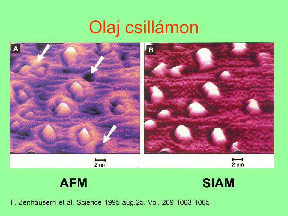 """Kémiai erő-mikroszkópia (Chemical Force Microscopy Az atom-erő mikroszkópiának (AFM) speciális esete a laterális erő mikroszkópia: a tű elmozdulását és a kar """"elferdülését 4 fénydetektorral mérik."""