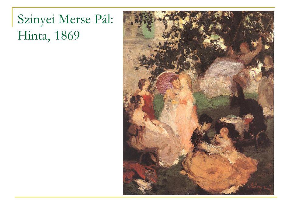 Szinyei Merse Pál: Hinta, 1869