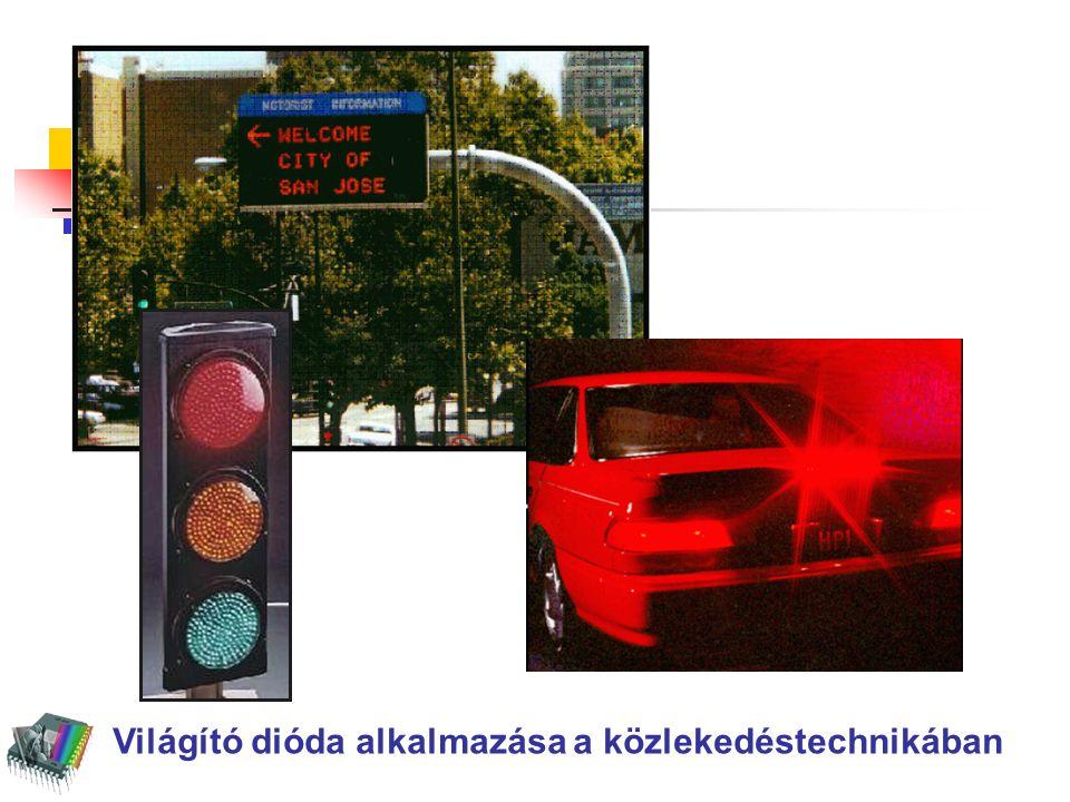 LEDes közlekedésvilágítási jelzőlámpa fejlődése 1993 1996 1998