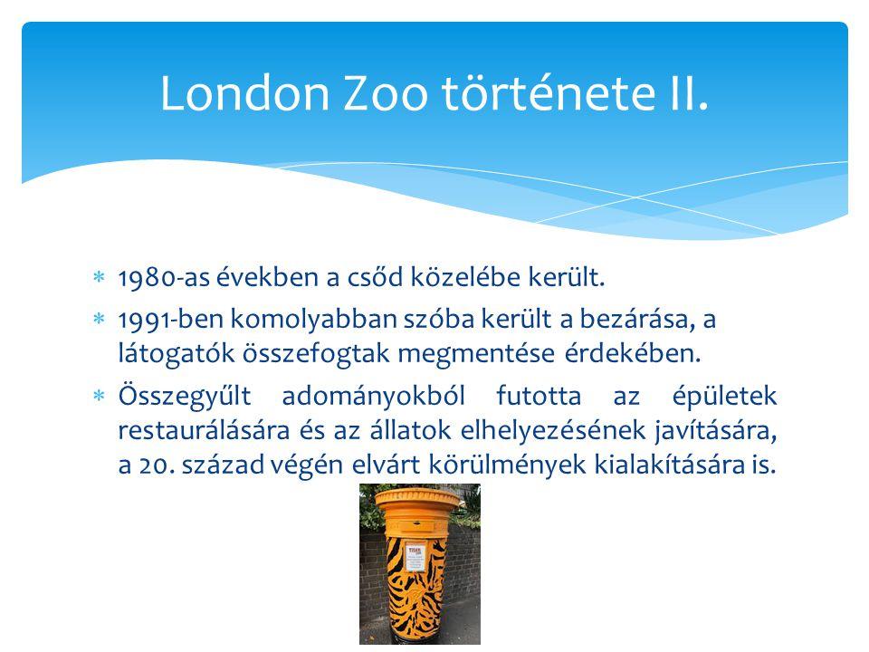  806 állatfaj található. 19000 állat él itt.